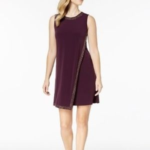 Calvin Klein Embellished Sleeveless Dress